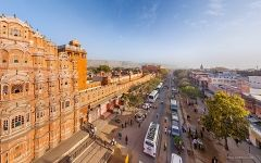 Near the Hawa Mahal