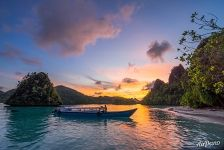 Sunset at Wayag Islands, Raja Ampat, Indonesia #2