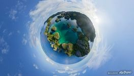Planet of Pianemo Island, Raja Ampat
