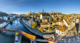 Lucerne cityscape