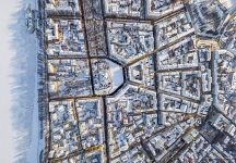 Above the Sovetskaya Square, Yaroslavl, Russia