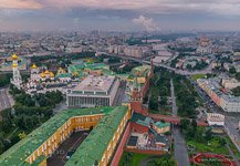 Bird's Eye View of the Moscow Kremlin #1