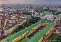 Bird's Eye View of the Moscow Kremlin #2