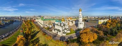 Golden autumn in Kremlin