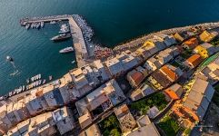 Above the houses of Porto Venere
