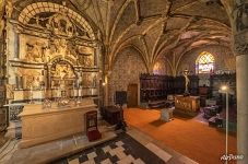 Interior of the Chapel of Pena National Palace