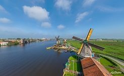 De Zoeker (The Seeker) oil windmill, Zaanse Schans