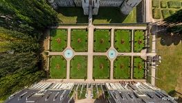 Garden of the Château de Valençay
