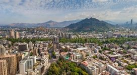 Santiago from above
