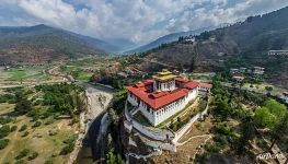 Paro District, monastery and fortress Rinpung Dzong