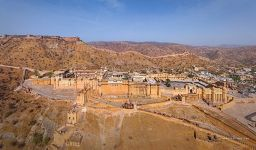 Jaipur. Amer Fort, or Amer Palace
