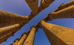 Colonnade of the Luxor Temple