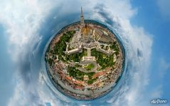 Fisherman's Bastion. Planet