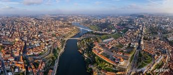 Above the Douro River