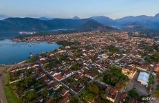 Bird's eye view of Paraty