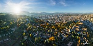 Bird's eye view of Alhambra
