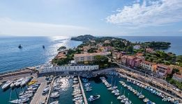 Above the port of Saint-Jean-Cap-Ferrat