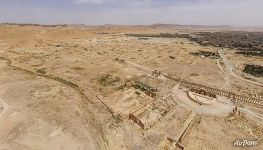 Bird's eye view of Palmyra