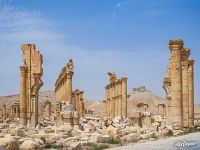 Ruins of Ancient city of Palmyra