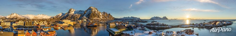Panorama of Svolvær