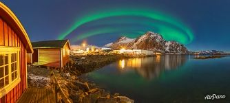 Northern lights in Svolvær