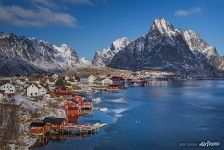 Architecture of Lofoten archipelago
