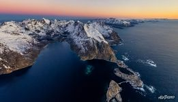 Nature of Lofoten archipelago