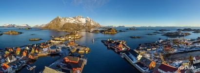 Henningsvær fishing village