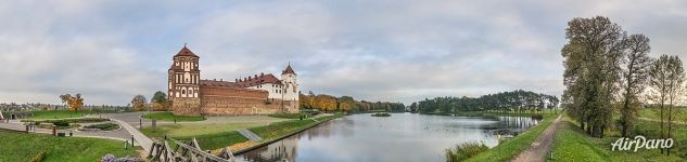 Mir Castle and the lake