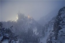 Neuschwanstein Catle in the winter #7