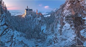 Neuschwanstein Catle in the winter #1
