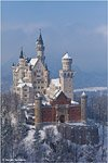 Neuschwanstein Catle in the winter #4