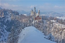 Neuschwanstein Catle in the winter #8