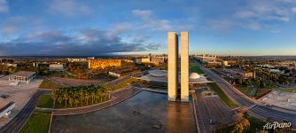 Praça dos Três Poderes (Three Powers Plaza), National Congress of Brazil