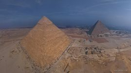 Pyramid of Khafre and Pyramid of Cheops