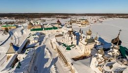Temples and cathedrals of Solovetsky Monastery