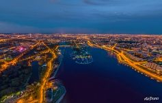Saint-Petersburg at night, Russia