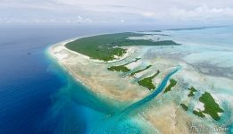 Above the West Channels of Aldabra