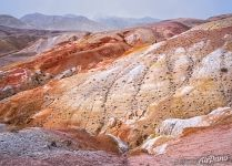 Colorful Mountains of Kyzyl-Chin