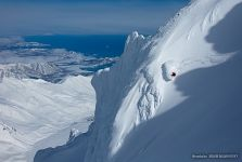 Freeride in Kamchatka