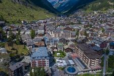 Zermatt from above