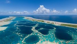 Explosion of colours and textures on the most beautiful atoll in the world