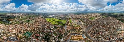 Meknes from an altitude of 200 meters