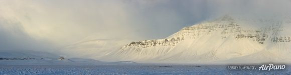 Winter landscape of Snaefellsnes Peninsula