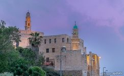 Mosque and Clock Tower. Jaffa