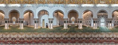 Sheikh Zayed Grand Mosque Main Prayer Hall. Abu Dhabi, UAE