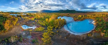 Uzon caldera, Kamchatka, Lake «Eight»