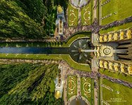 Peterhof, above the Samson Fountain