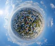 Old Moscow, Kitay-gorod. Planet