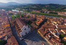 Over the Santa Croce Square